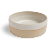 PAWNESS HANDMADE CERAMIC FOOD BOWL WHITE