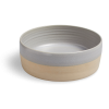 PAWNESS HANDMADE CERAMIC FOOD BOWL GREY