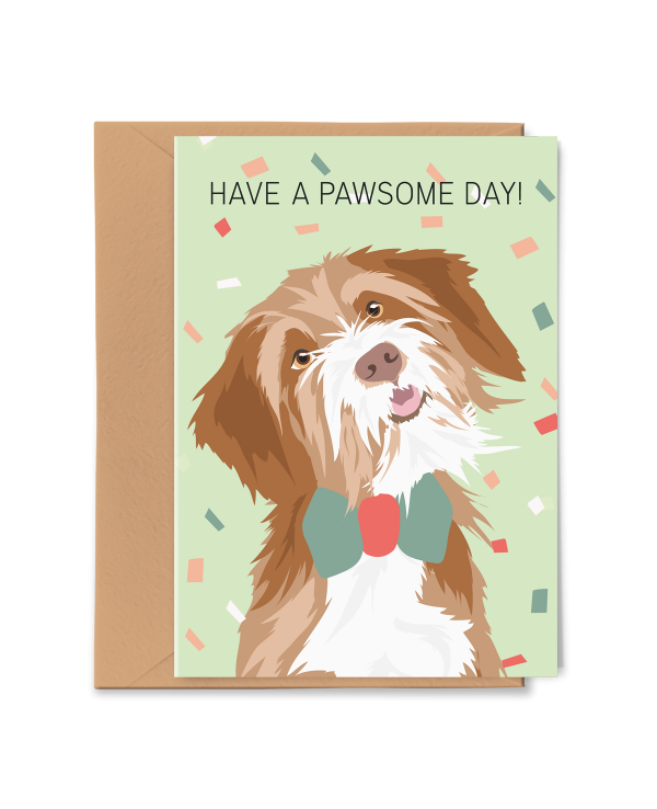 PGC20X01_Greeting Card Pawsome Day