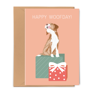 PGC20X02_Greeting Card Happy Woofday