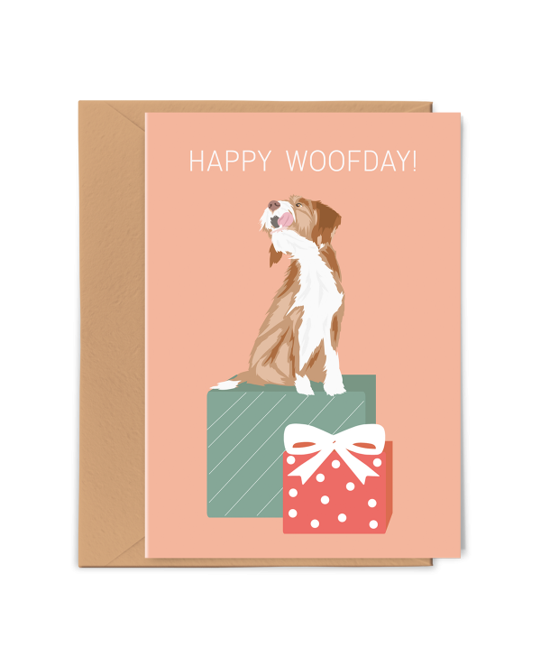 PGC20X02_Greeting Card Happy Woofday