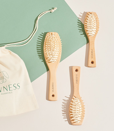 VEGAN WOODEN BRUSHES